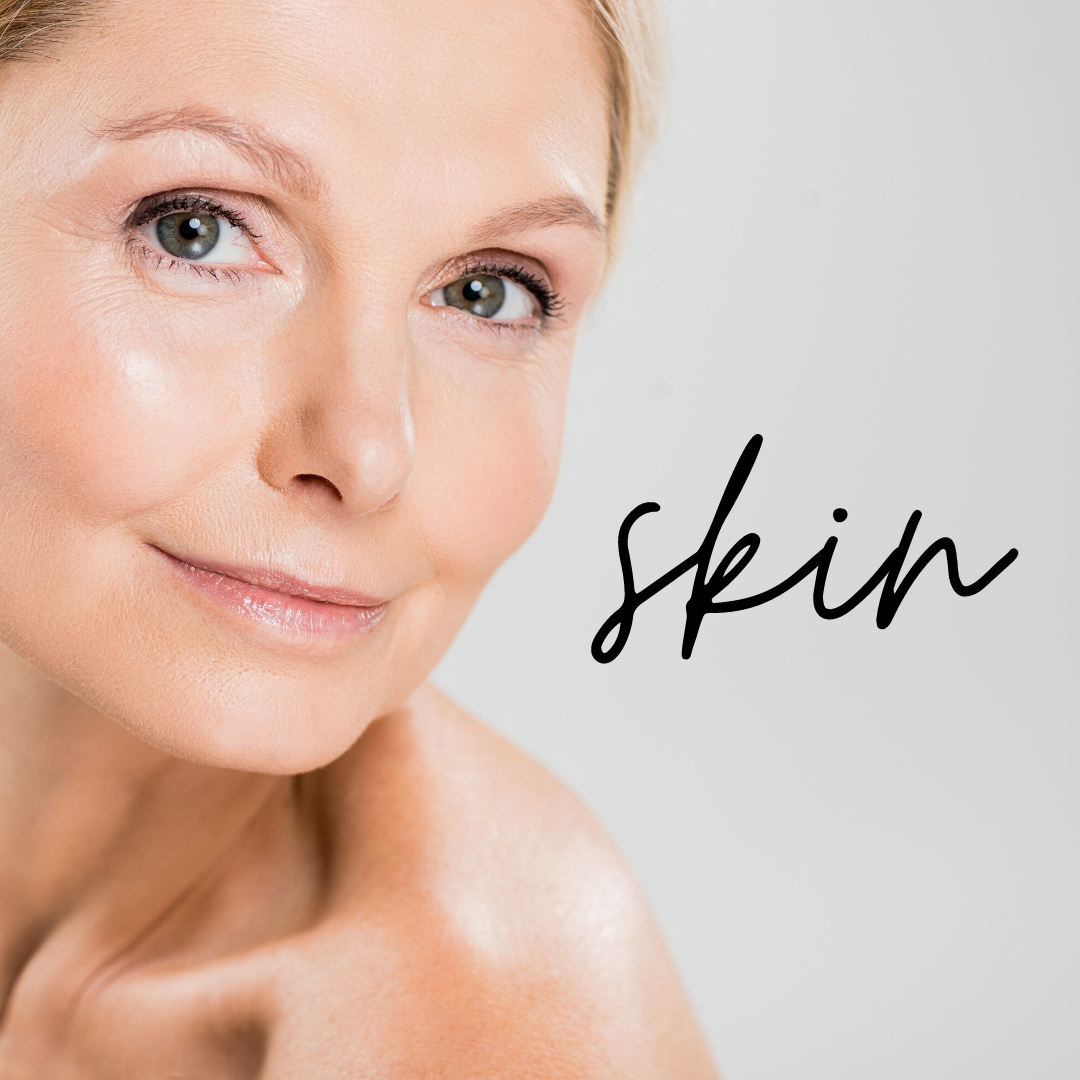 Privé-Swiss MedSpa beautiful woman's face with flawless skin